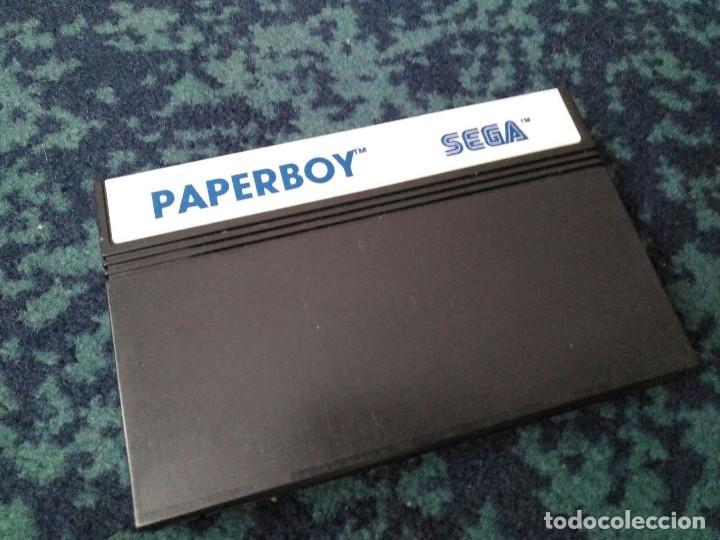 JUEGO PAPERBOY MASTER SYSTEM (Juguetes - Videojuegos y Consolas - Sega - Master System)