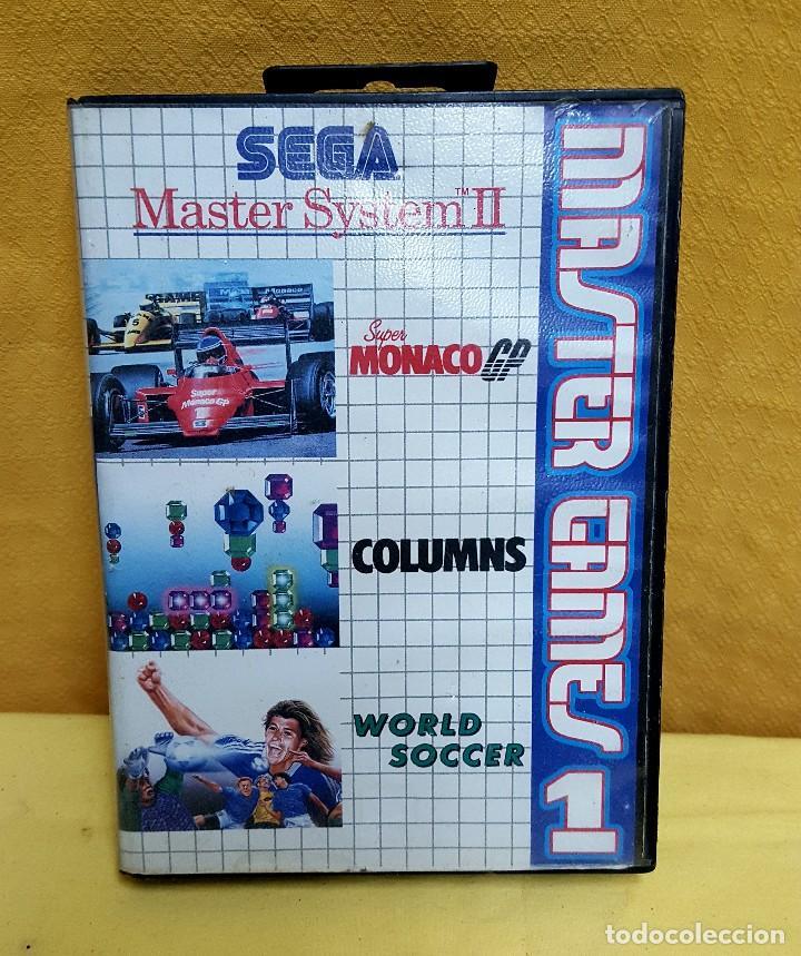 Juego Sega Master Ii Comprar Videojuegos Y Consolas Master System