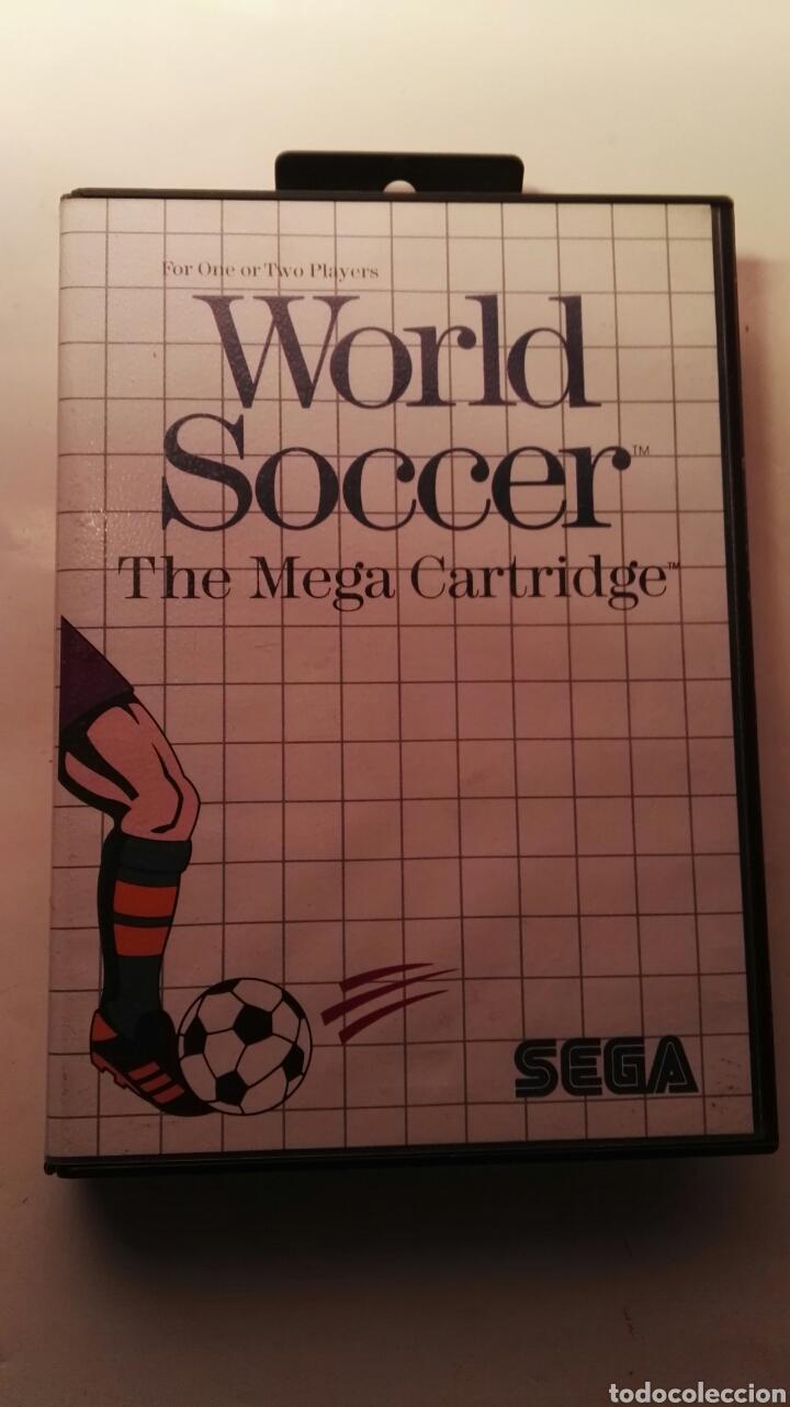 WORLD SOCCER THE MEGA CARTRIDGE SEGA MASTER SYSTEM CLÁSICO VIDEOJUEGO (Juguetes - Videojuegos y Consolas - Sega - Master System)