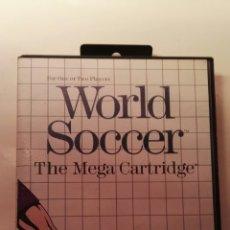 Videojuegos y Consolas: WORLD SOCCER THE MEGA CARTRIDGE SEGA MASTER SYSTEM CLÁSICO VIDEOJUEGO. Lote 113832742