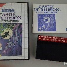 Videojuegos y Consolas: CASTLE OF ILLUSION - JUEGO MASTER SYSTEM. Lote 114985567