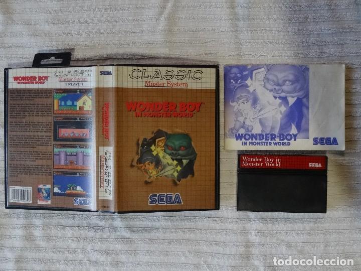 Juego para SEGA MASTER SYSTEM - Wonder Boy in Monster world