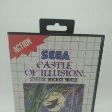 Videojuegos y Consolas: SEGA CASTLE OF ILLUSION MASTER SYSTEM. Lote 119192835