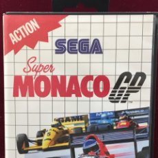 """Videojuegos y Consolas: SEGA MASTER SYSTEM """" SUPER MONACO GP """". Lote 121361775"""