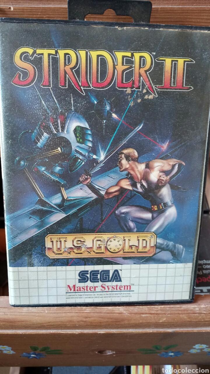 STRIDER 2 MASTER SYSTEM (Juguetes - Videojuegos y Consolas - Sega - Master System)
