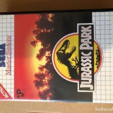 Videojuegos y Consolas: JURASSIC PARK PARA SEGA MASTER SYSTEM, COMPLETO.. Lote 121530363