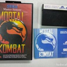 Videojuegos y Consolas: MORTAL KOMBAT - PAL - MS SMS MASTER SYSTEM. Lote 121595151
