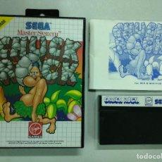 Videojuegos y Consolas: CHUCK ROCK SEGA MASTER SYSTEM - PAL - MS SMS. Lote 121595367