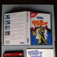 Videojuegos y Consolas: JUEGO SEGA MASTER SYSTEM DICK TRACY COMPLETO CON MANUAL CIB PAL! R7544. Lote 121708915