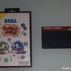 Videojuegos y Consolas: JUEGO SEGA MASTER SYSTEM BUBBLE BOBBLE TAITO CLASICO. Lote 121955055