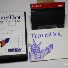 Videojuegos y Consolas: TRANSBOT ( SEGA MASTER SYSTEM - EURO). Lote 121968503