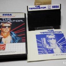Videojuegos y Consolas: THE TERMINATOR ( SEGA MASTER SYSTEM - EURO). Lote 121968591