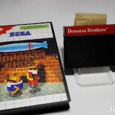 Videojuegos y Consolas: BONANZA BROS. ( SEGA MASTER SYSTEM - EURO). Lote 121968651
