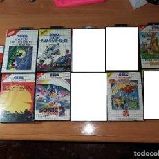 Videojuegos y Consolas: SMS0012 - PACK 7 JUEGOS SEGA MASTER SYSTEM. Lote 99352475