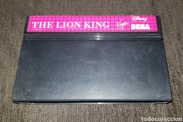 JUEGO CARTUCHO PARA SEGA MASTER SYSTEM THE LION KING (Juguetes - Videojuegos y Consolas - Sega - Master System)