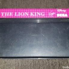 Videojuegos y Consolas: JUEGO CARTUCHO PARA SEGA MASTER SYSTEM THE LION KING. Lote 123079090