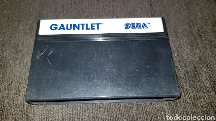 JUEGO GAUNTLET PARA SEGA MASTER SYSTEM FUNCIONANDO (Juguetes - Videojuegos y Consolas - Sega - Master System)