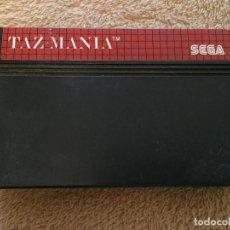 Videojuegos y Consolas: TAZ MANIA TAZMANIA SEGA MASTER SYSTEM MS MASTER SYSTEM KREATEN. Lote 124294275