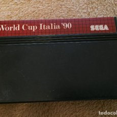 Videojuegos y Consolas: WORLD CUP ITALIA 90 SEGA MASTER SYSTEM MS MASTER SYSTEM KREATEN. Lote 123550043