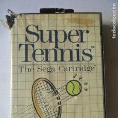 Videojuegos y Consolas: SUPER TENNIS, THE SEGA CARTRIDGE - JUEGO SEGA MASTER SYSTEM MASTERSYSTEM- PAL VERSIÓN ESPAÑOLA. Lote 130794436