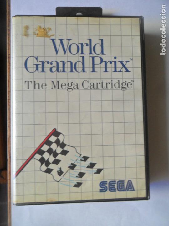 WORLD GRAND PRIX, THE SEGA CARTRIDGE - JUEGO SEGA MASTER SYSTEM MASTERSYSTEM- PAL VERSIÓN ESPAÑOLA (Juguetes - Videojuegos y Consolas - Sega - Master System)