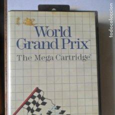 Videojuegos y Consolas: WORLD GRAND PRIX, THE SEGA CARTRIDGE - JUEGO SEGA MASTER SYSTEM MASTERSYSTEM- PAL VERSIÓN ESPAÑOLA . Lote 130794564