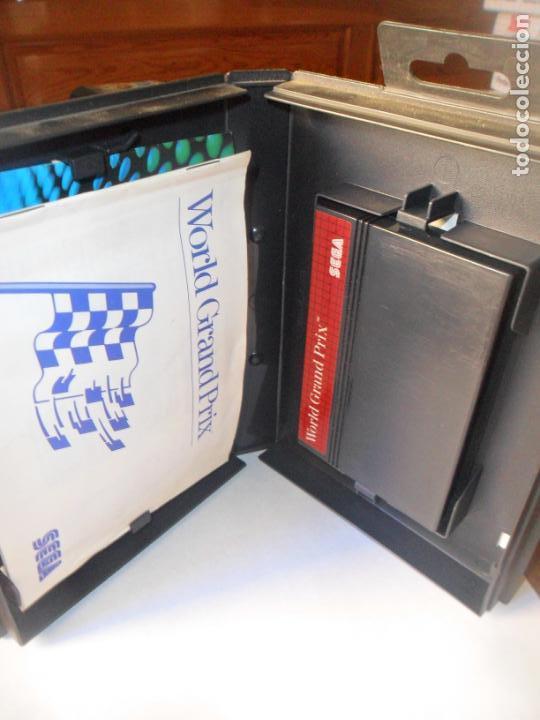 Videojuegos y Consolas: WORLD GRAND PRIX, THE SEGA CARTRIDGE - JUEGO SEGA MASTER SYSTEM MASTERSYSTEM- PAL VERSIÓN ESPAÑOLA - Foto 2 - 130794564