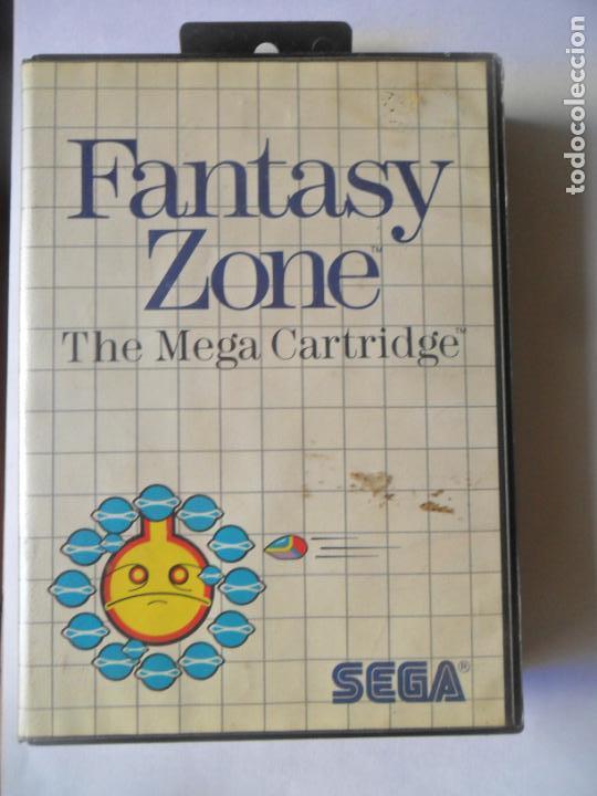 FANTASY ZONE, THE MEGA CARTRIDGE - JUEGO SEGA MASTER SYSTEM MASTERSYSTEM- PAL VERSIÓN ESPAÑOLA (Juguetes - Videojuegos y Consolas - Sega - Master System)