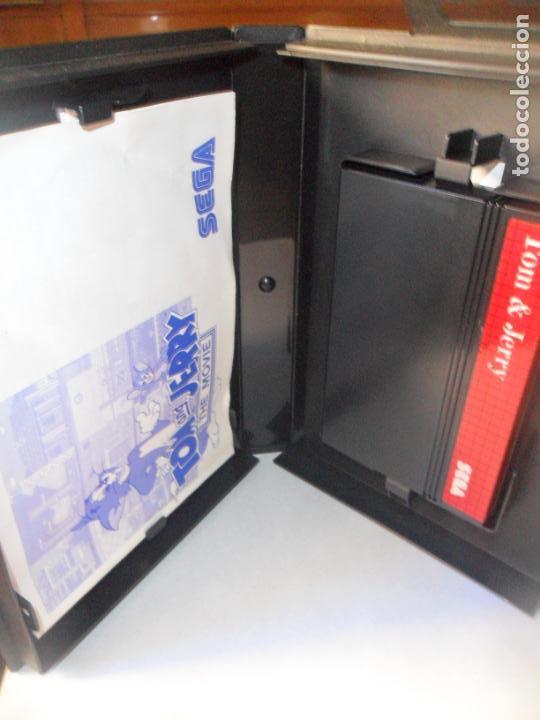 Videojuegos y Consolas: TOM AND JERRY, THE MOVIE - JUEGO SEGA MASTER SYSTEM MASTERSYSTEM- PAL VERSIÓN ESPAÑOLA - Foto 2 - 208022163