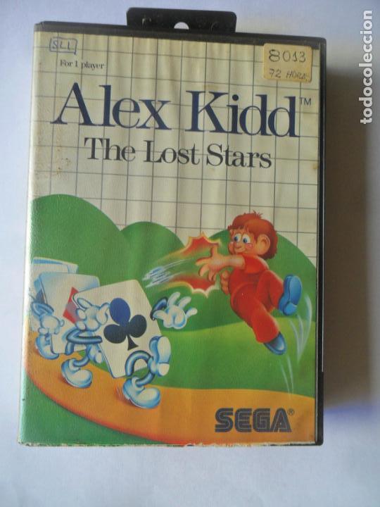 ALEX KIDD, THE LOST STARS - JUEGO SEGA MASTER SYSTEM MASTERSYSTEM- PAL VERSIÓN ESPAÑOLA (Juguetes - Videojuegos y Consolas - Sega - Master System)