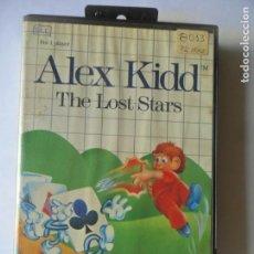 Videojuegos y Consolas: ALEX KIDD, THE LOST STARS - JUEGO SEGA MASTER SYSTEM MASTERSYSTEM- PAL VERSIÓN ESPAÑOLA . Lote 130795580