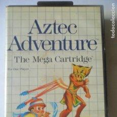 Videojogos e Consolas: AZTEC ADVENTURE - JUEGO SEGA MASTER SYSTEM MASTERSYSTEM- PAL VERSIÓN ESPAÑOLA . Lote 130795816