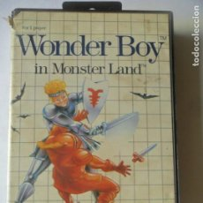 Videojogos e Consolas: WONDER BOY IN MONSTER LAND - JUEGO SEGA MASTER SYSTEM MASTERSYSTEM- PAL VERSIÓN ESPAÑOLA . Lote 130795920
