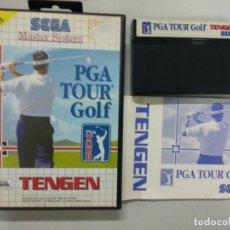 Videojuegos y Consolas: PGA TOUR GOLF - SEGA MASTER SYSTEM - PAL - MS SMS. Lote 131033368