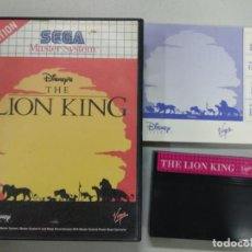 Videojuegos y Consolas: THE LION KING EL REY LEON - SEGA MASTER SYSTEM - PAL - MS SMS. Lote 131033840