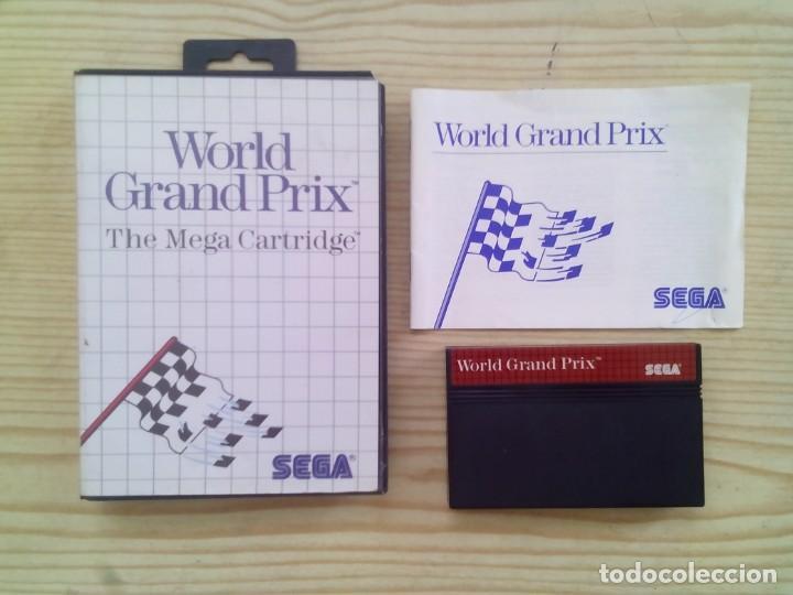 Juego World Grand Prix Sega Master System C Comprar