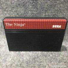 Videojuegos y Consolas: THE NINJA SEGA MASTER SYSTEM. Lote 131964375