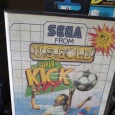 Videojuegos y Consolas: SUPER KICK OFF SEGA MASTER SYSTEM. Lote 133196039
