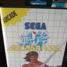Videojuegos y Consolas: GOLDEN AXE SEGA MASTER SYSTEM. Lote 133196386