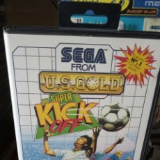Videojuegos y Consolas: SUPER KICK OFF SEGA MASTER SYSTEM. Lote 133196489