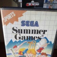Videojuegos y Consolas: SUMMER GAMES SEGA MASTER SYSTEM. Lote 133197389