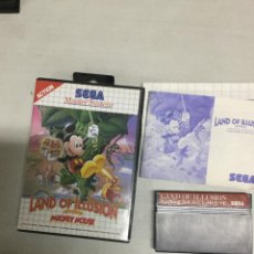 Videojuegos y Consolas: LAND OF ILLUSION STARRING MICKEY MOUSE - SEGA MASTER SYSTEM - PAL - MS SMS. Lote 133372962