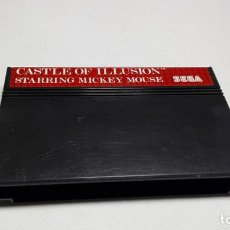 Videojuegos y Consolas: CASTLE OF ILLUSION ( MICKEY ) ( SEGA MASTER SYSTEM - EURO) JC. Lote 134226706