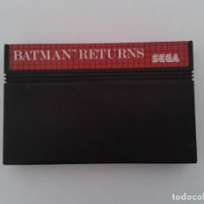 Videojuegos y Consolas: JUEGO SEGA MASTER SYSTEM BATMAN RETURNS SOLO CARTUCHO PAL R8089. Lote 135554506