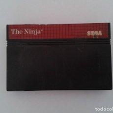 Videojuegos y Consolas: JUEGO SEGA MASTER SYSTEM THE NINJA SOLO CARTUCHO PAL R8091. Lote 135554570