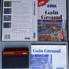 Videojuegos y Consolas: SEGA MASTER SYSTEM GAIN GROUND CAJA Y MANUAL COMPLETO CIB BOXED PAL R8218. Lote 139514106