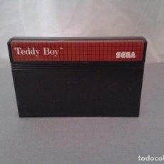 Videojuegos y Consolas: JUEGO SEGA MASTER SYSTEM TEDDY BOY SOLO CARTUCHO PAL R8220. Lote 139514266