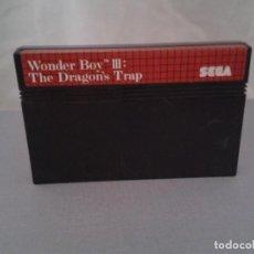 Videojuegos y Consolas: JUEGO SEGA MASTER SYSTEM WONDER BOY III DRAGONS TRAP SOLO CARTUCHO PAL R8222. Lote 139514414