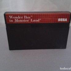 Videojuegos y Consolas: JUEGO SEGA MASTER SYSTEM WONDER BOY IN MONSTER LAND SOLO CARTUCHO PAL R8223. Lote 139514478
