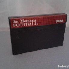 Videojuegos y Consolas: JUEGO SEGA MASTER SYSTEM JOE MONTANA FOOTBALL NFL SOLO CARTUCHO PAL R8224. Lote 139514526